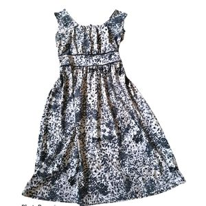 Summer Fit and Flare confetti dress sz M
